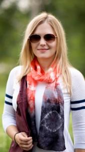 red-black-scarf-silk