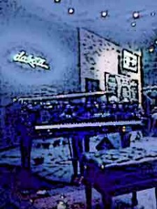 Piano Player at the Dakota Jazz Club & Restaurant in Minneapolis Minnesota