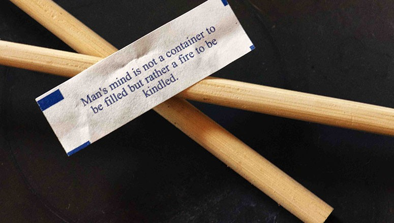 Sweet, Sweet, Wisdom: Fortunes That Will Do In A Crunch