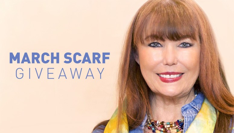 March Silk Scarf Giveaway