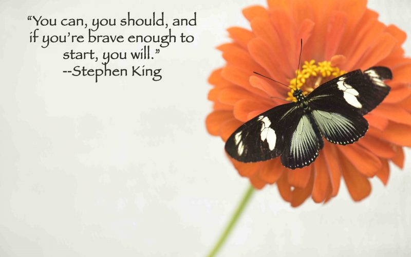 Scary Good Advice From Stephen King…