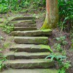 aging schmaging tibetan stairs