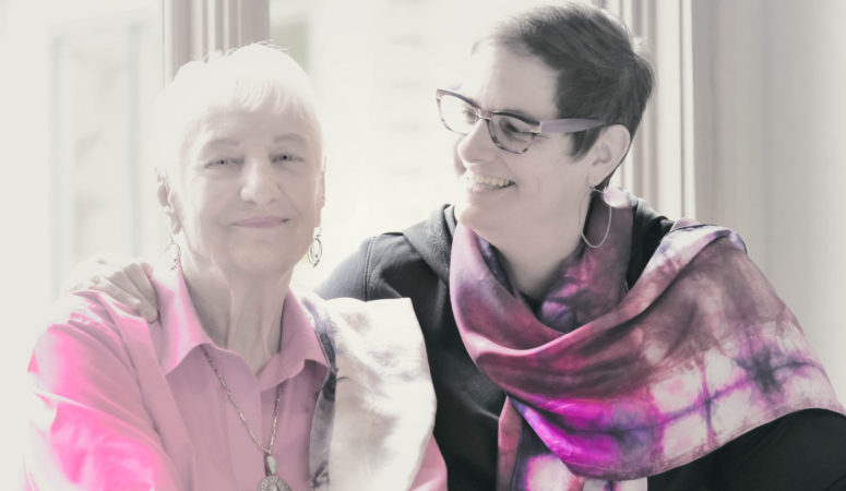 My special Silk Scarf Ambush Models For May…Maxine and Mary Closner!