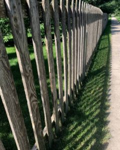 aging schmaging fence