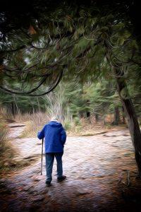 agingschmaging walking a path alone