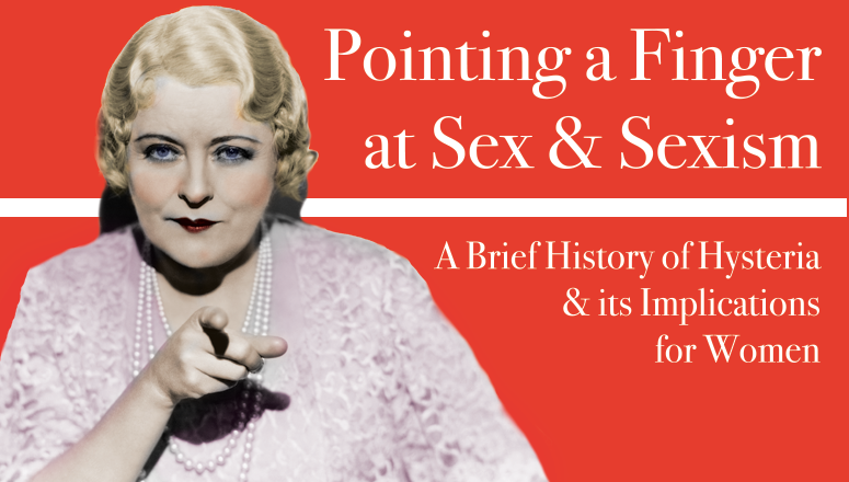 Pointing A Finger At Sex And Sexism