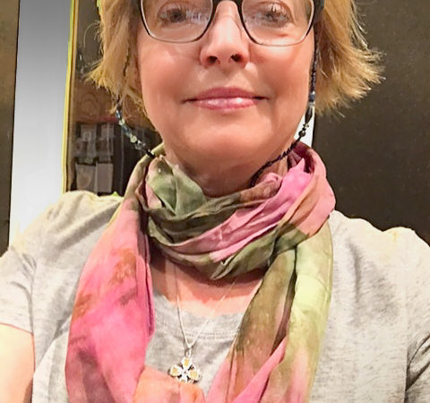 "Laurie Warner Selfie, ""Love the scarf!"""