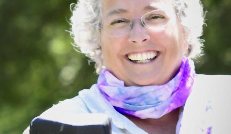Meet My July Silk Scarf Ambush Model: Cathy Collison!
